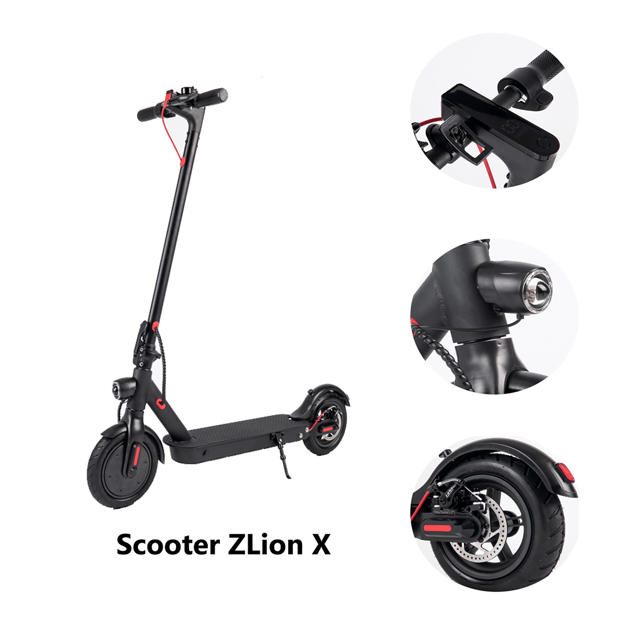 Scooter ZLion X - Zwheel