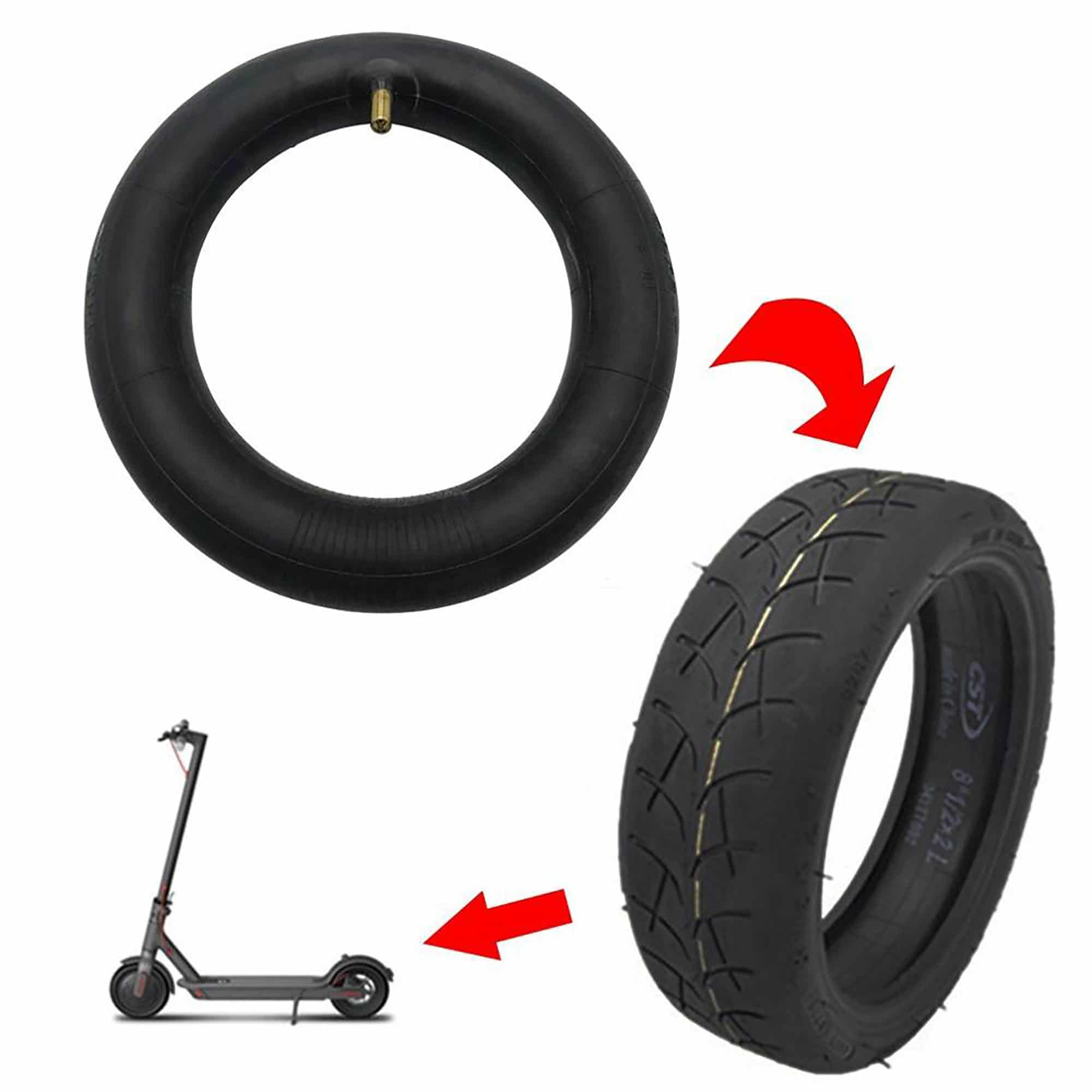 tire mounting with air chamber - Zwheel