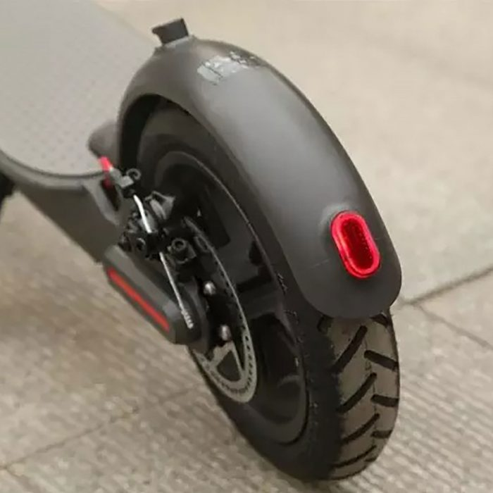 fender with light for electric scooter - Zwheel