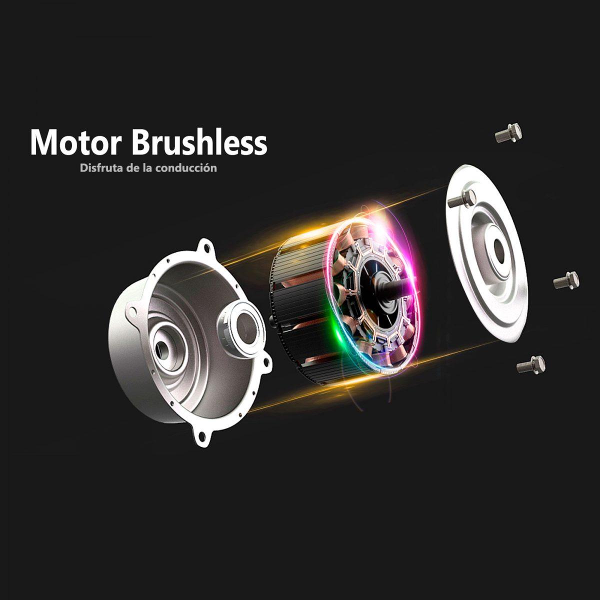 Motor Brushless del patinete eléctrico - Zwheel