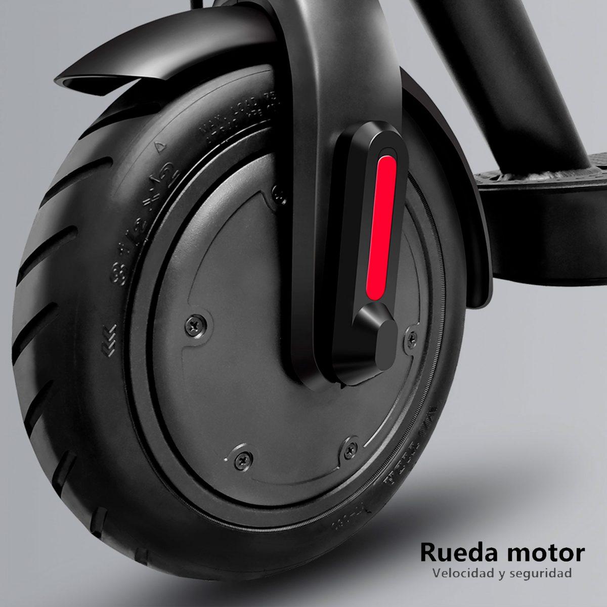 Rueda motor para velocidad y seguridad de patinetes eléctricos - Zwheel
