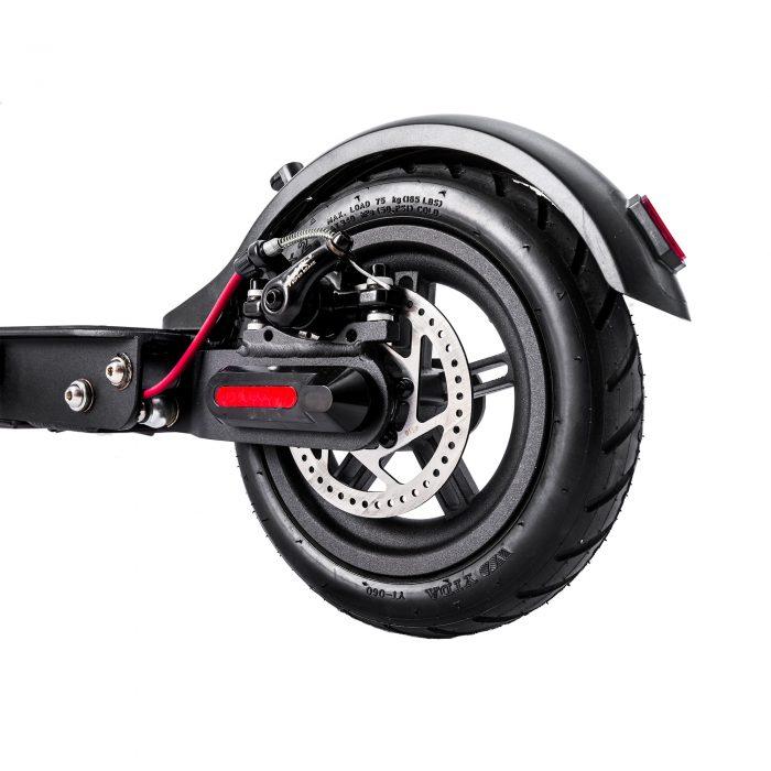 Detalle de la rueda de patinete eléctrico Zlion - Zwheel