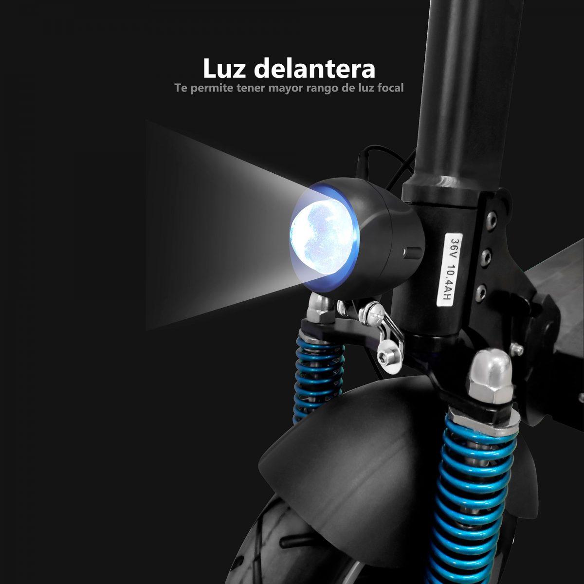 Luz delantera de patinete eléctrico Zrino - Zwheel