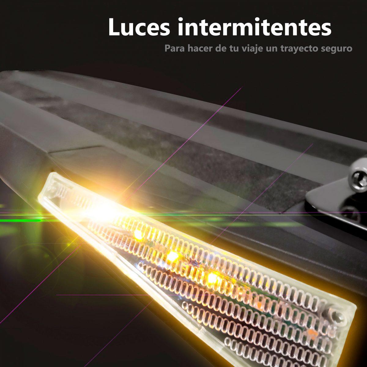 Luces intermitentes para patinete Zrino - Zwheel