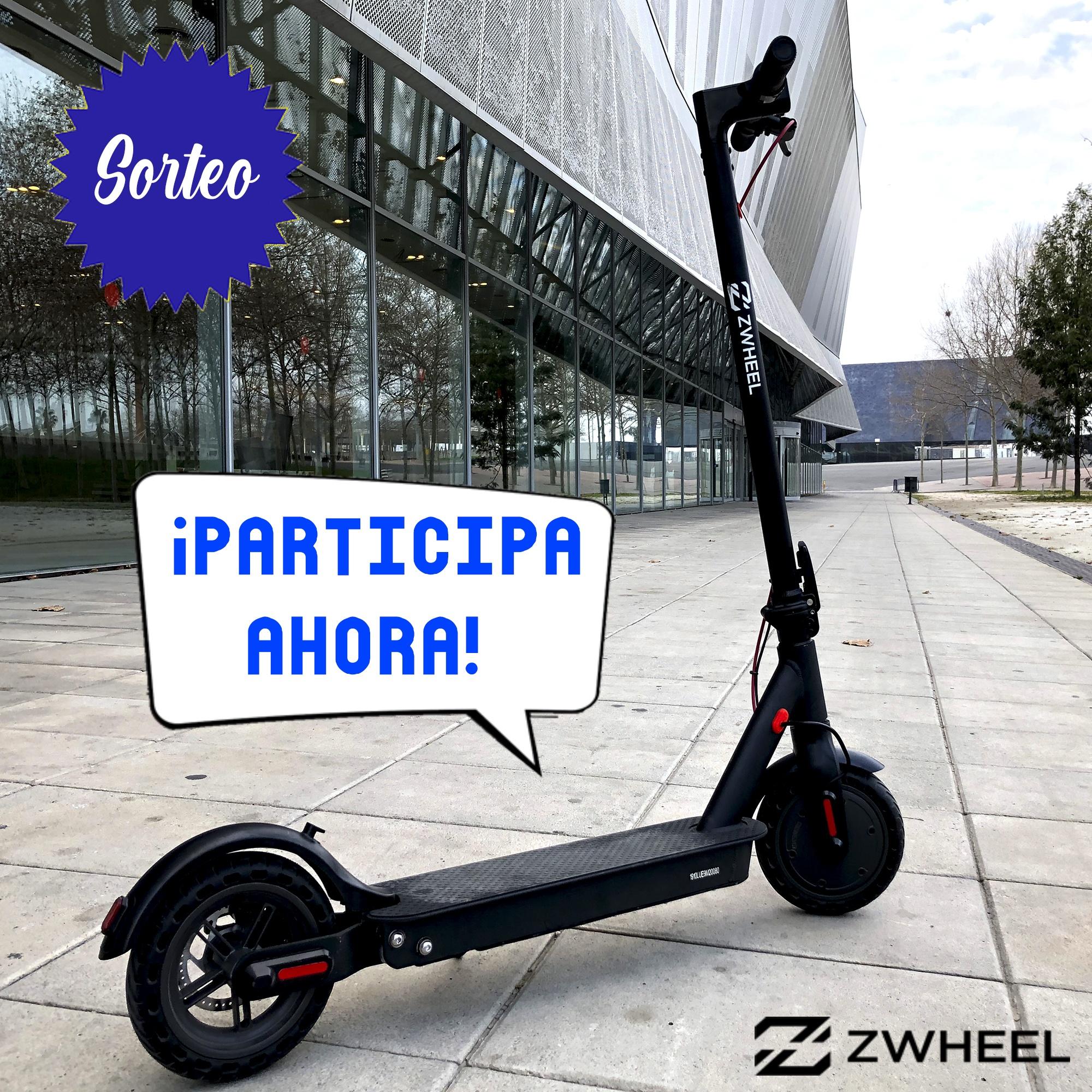 Sorteo de un patinete eléctrico ZWheel