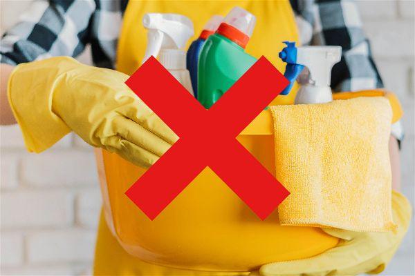 No utilizar productos quimicos para limpiar un patinete