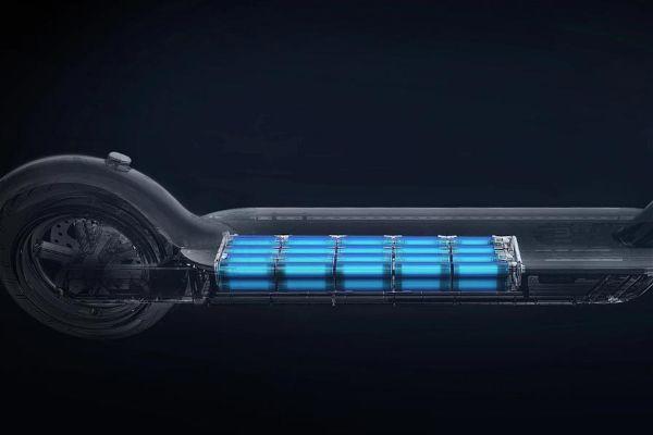 La potencia de un patinete electrico