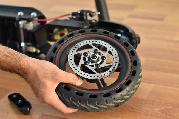 4. Sacar rueda