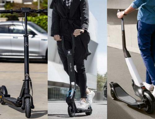 Las marcas de coches y sus patinetes eléctricos